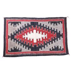 Navajo Klagetoh Wool Trading Post Rug c. 1920-
