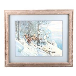 Lewis & Clark Limited Edition Print by John Clymer