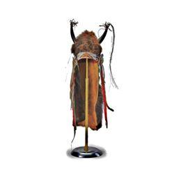 Cheyenne Young Warrior Buffalo Headdress c. 1870-