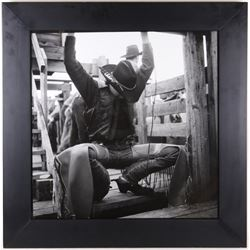 "1997 Gelatin Silver Wouter Deruytter ""Cowboy Code"""