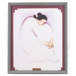 "R.C. Gorman (1931 - 2005) ""Chenoa"" Framed Print"