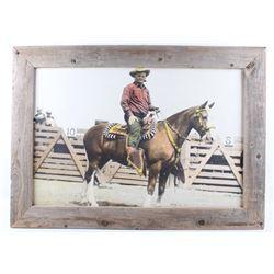 Original Ralph Doubleday Leo Kramer Rodeo Photo