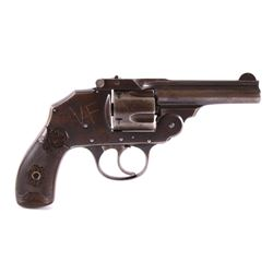Iver Johnson .38 Safety Hammerless D/A Revolver