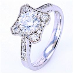 VS1 1.43 ct. Diamond Ring w/ UGS & EGL Papers