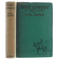 First Edition of the Lone Cowboy by Will James
