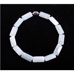 380 carats Aquamarine & Sterling Necklace