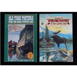 Pair of Stackpole Books Western Poster c 1978
