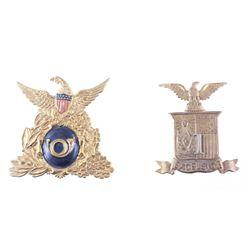 Excelsior & Pre-Civil War Socket Helmet Badge