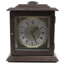 Small Table Clock with a Carrying Handle
