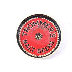 1960's Trommer's Malt Beer Advertisement Beer Tray