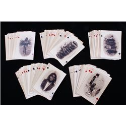 American Indian Reproduction Photo Playing Cards