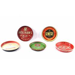 Variety Collection of U.S. Manufactured Beer Trays