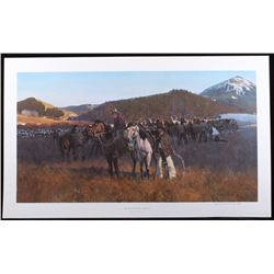 Gary Carter Bear Paw Rope Corral Limited Ed Litho