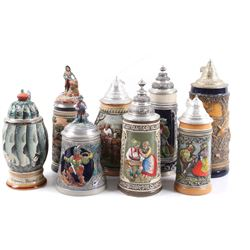 German Traditional Beer Stein Collection
