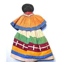 Seminole Indian Patch Cloth Doll c. 1900's