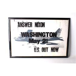 Three Anti-War Posters Circa 1972