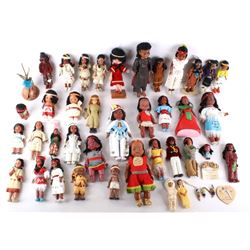 Collection of Native American Dolls & Accessories