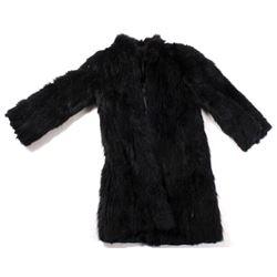 Black National Fur Shop Coat