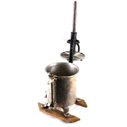 Cast Iron Chop-rite Vertical Sausage Maker