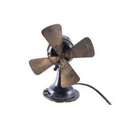 Early 1900s Westinghouse Electric 120v Brass Fan