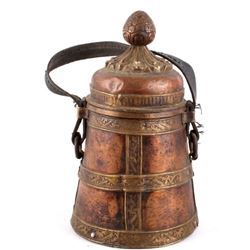 Copper & Bronze Tibetan Container