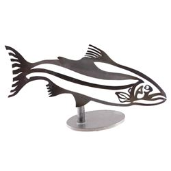 Steel Head Studio Metal Fish Sculpture
