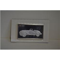 Franklin Mint Silver Bar 1939 BMW