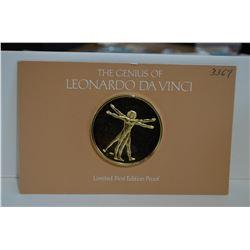 Franklin Mint Da Vinci Coin