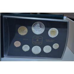 Royal Canadian Mint Coin Set 1999