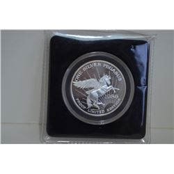 One Silver Pegasus .999 Fine Silver