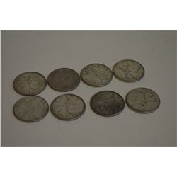 Silver Canadian Quarters