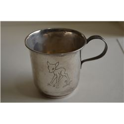 835 silver cup