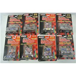 Racing Champions Chase the Race Diecast Cars