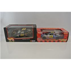 Two 1/24 Scale Diecast Cars