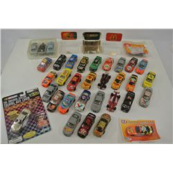 Various Diecast Vehicles and Accessories