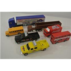 Various Diecasst Trucks