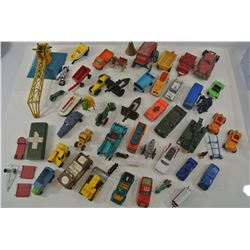 Various Older Diecast Vehicles and Parts
