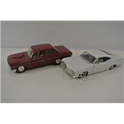 Two diecast cars