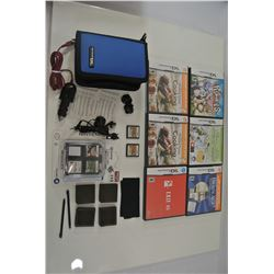 Nintendo DS Games and accessory kit