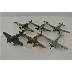 Model planes lot