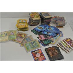 Yu-Gi-Oh and Pokemon Cards