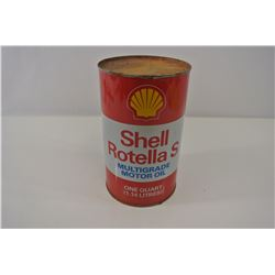 Shell Rotella Can