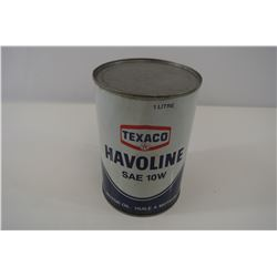 Texaco Havoline Oil Can