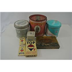 Miscellaneous Tobacco Tins