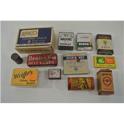 Miscellaneous Vintage Containers