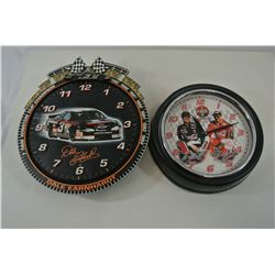 2 Dale Earnhardt Clocks