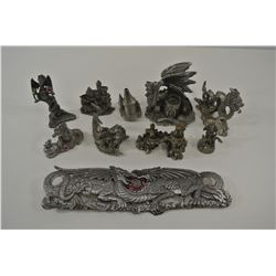 Spoontiques and other pewter miniatures