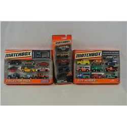 Matchbox 5 and 10 Packs