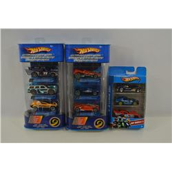 Hot Wheels 3 and 5 Packs