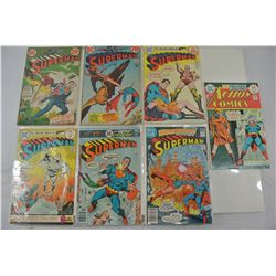Superman and Action Bronze Age Comics Lot